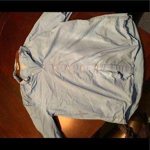 Club Room Shirts - Club room fitted button shirt